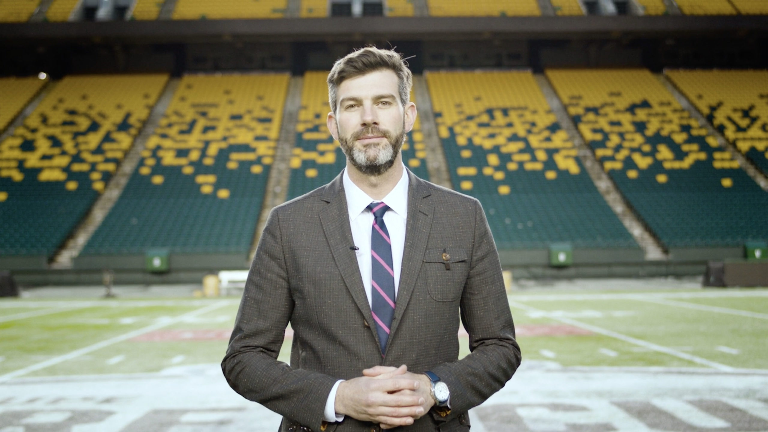 Grey Cup video production with Don Iveson