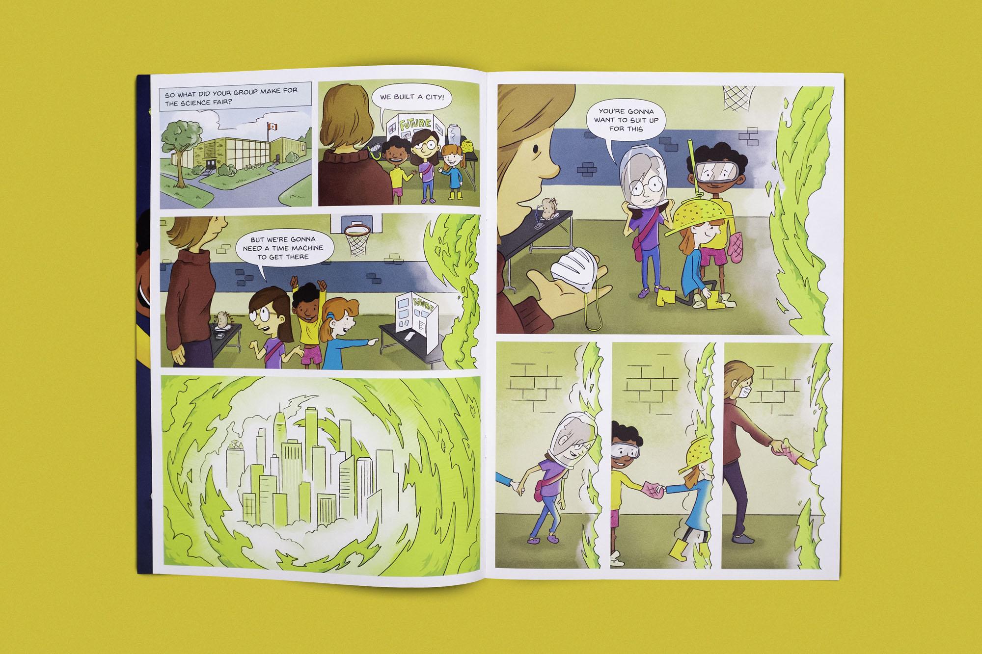 Educational Comic Book Edmonton