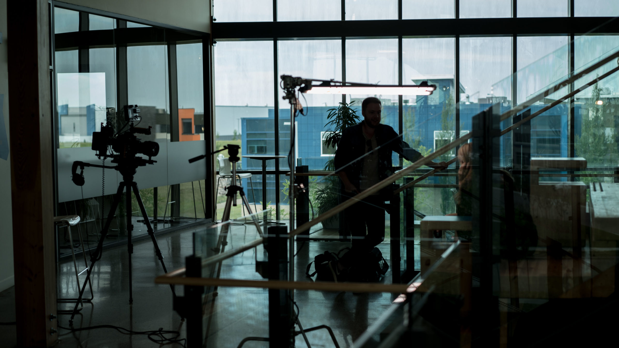 Video production at the Mosaic Centre in Edmonton