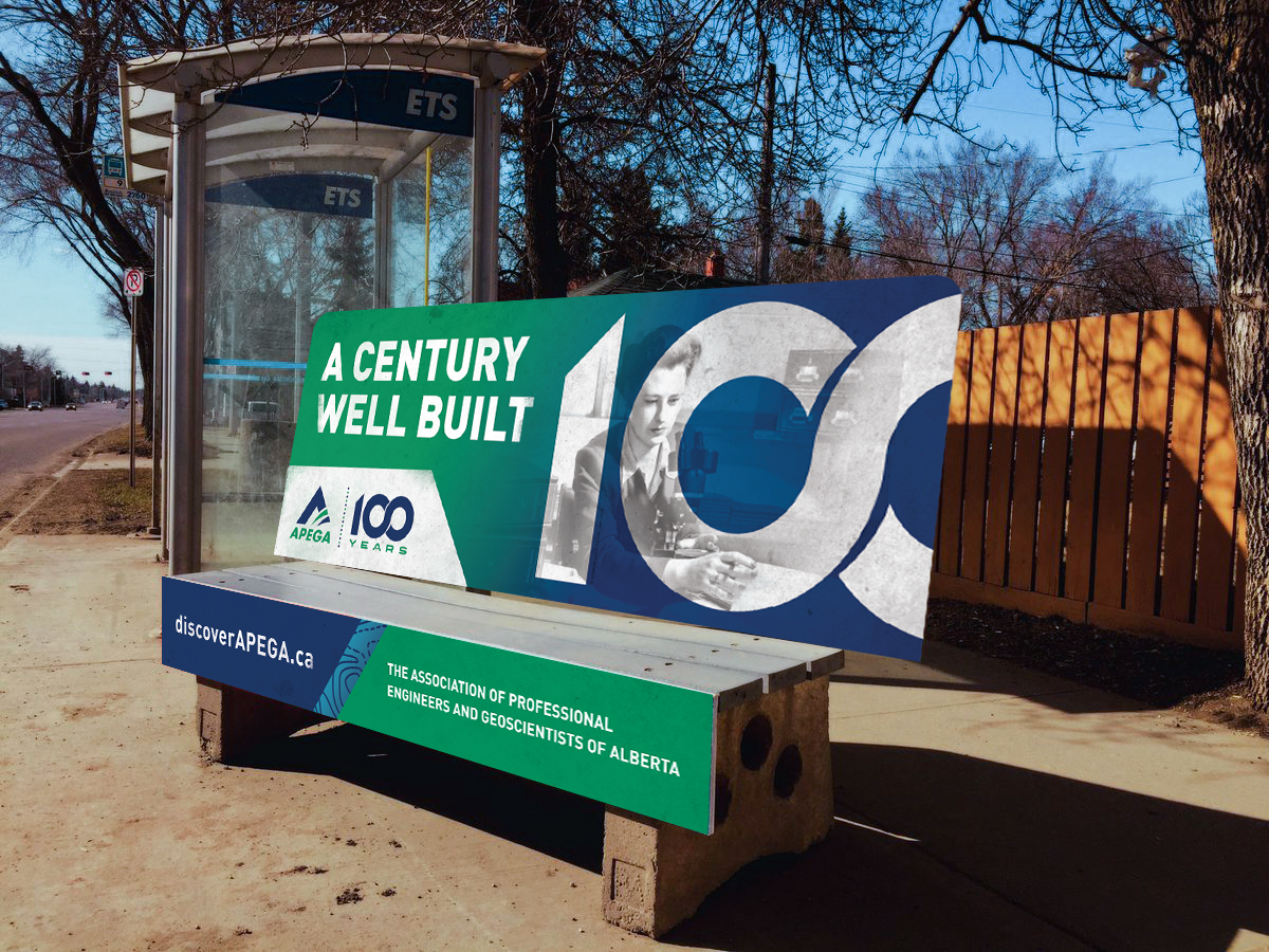 APEGA_CenturyWellBuilt_AdvertisingCampaign_BusBench